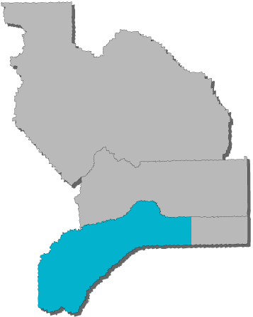 Western Nevada County Map